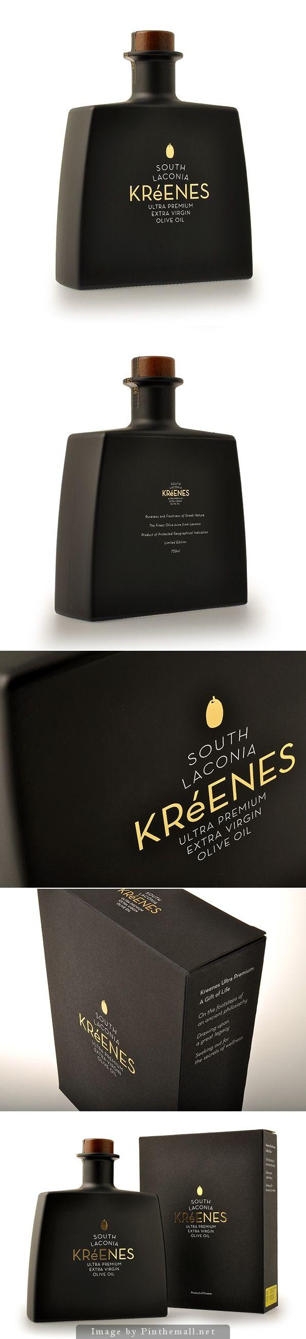 Kreenes Ultra Premium Olive Oil #packaging   by k2Design