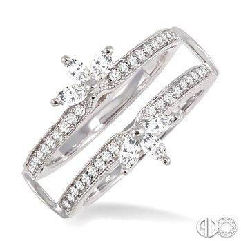 White Gold Wedding Ring Inserts
