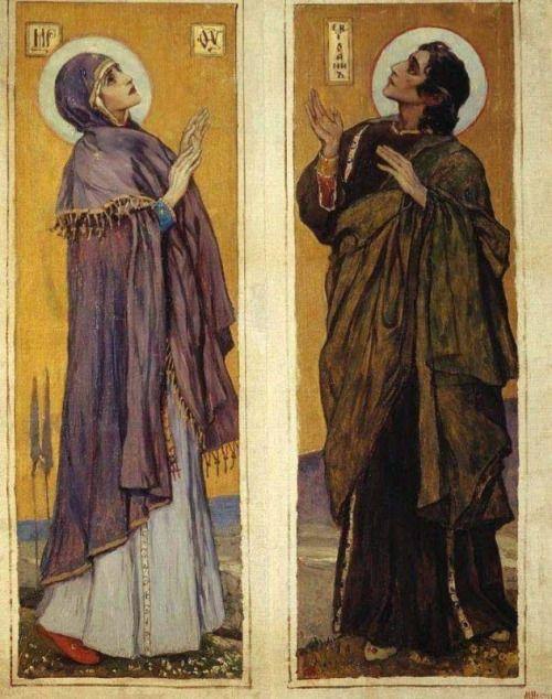 The Virgin and Saint John