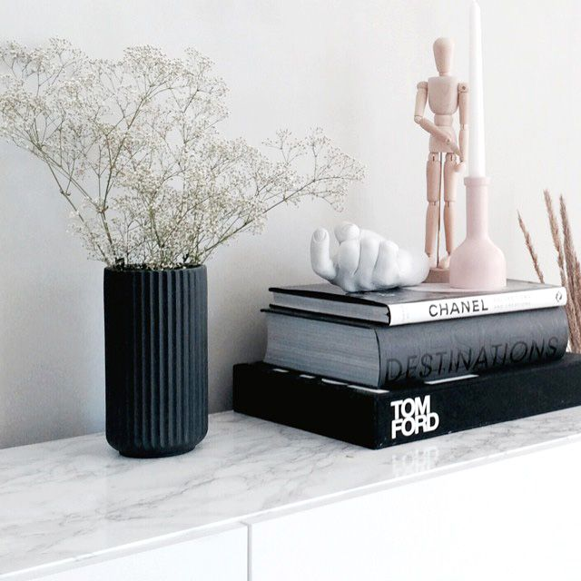 15 Things You'll Find In EVERY Fashion Girl's Apartment #refinery29  http://www.refinery29.com/fashion-home-decor-items#slide-8  Coffee Table Stacks  Bonus points for keeping 'em all neutral. Tom Ford and Chanel? Obviously.