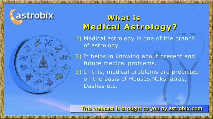 Medical Astrology - How Vedic Jyotish can help detect and treat ailments