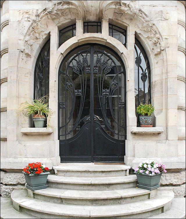 Dr. Paul Jacquesu0027 House (entrance Door), 1905   France. Architect
