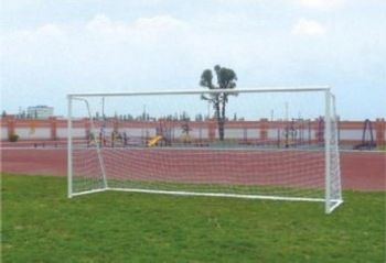 High quality soccer goal 7.32m*2.44m for sale