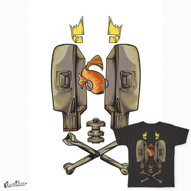FishnSkull on Threadless