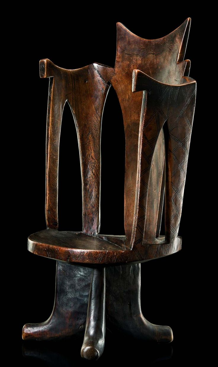 Africa | Chair from the Gurage people of Ethiopia | Wood
