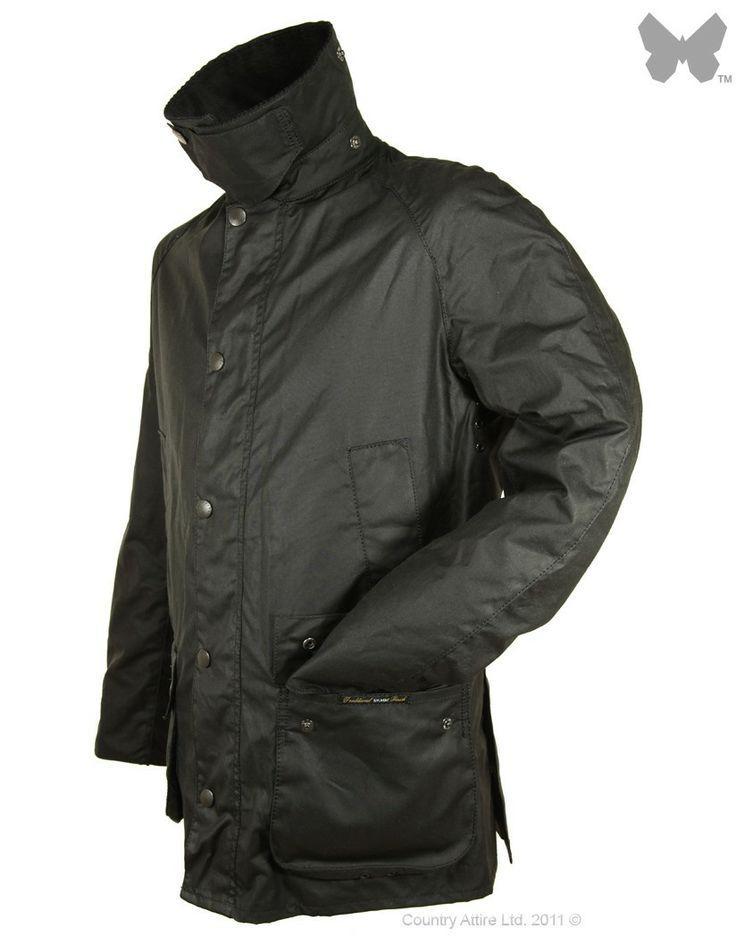 Barbour Men's Ashby Jacket - Black MWX0339BK71 | Country Attire
