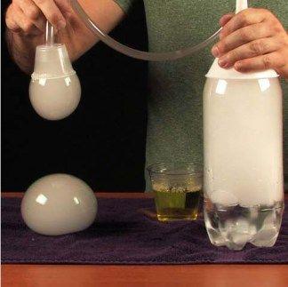 Bubbles ghiaccio secco - Attività Didattiche per bambini