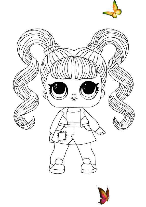 Lol Hairvibes Jelly Jam Coloring Page Free Lol Coloring Pictures Lol Hairvibes Jelly Kids Printable Coloring Pages Unicorn Coloring Pages Cute Coloring Pages