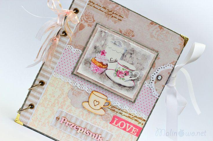 Przepiśnik - piękny prezent dla gotującej Romantyczki