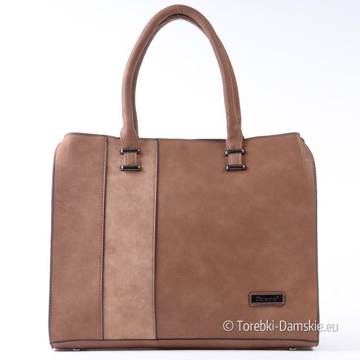 Brązowy kuferek A4 z paskiem dopinanym długim w komplecie, miejska torebka damska w eleganckim stylu. Zdjęcia w pełnej jakości w naszym sklepie Kliknij http://torebki-damskie.eu/brazowe/1323-pojemna-teczka-a4-brazowy-kuferek-trzy-odcienie.html