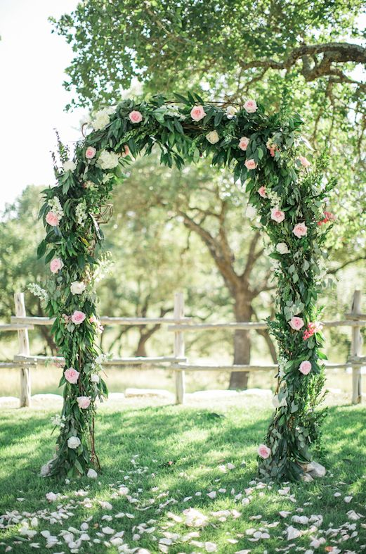 Ceremony Arch Floral Arch Garland Hydrangea Roses