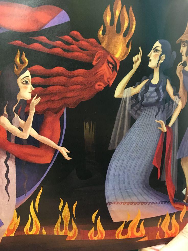 The abduction of Persephone. | Greek mythology, Mythology ...