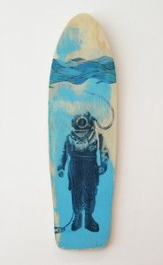 Deep sea Diver $590 (Available from Moko Artspace. Click on the image to link to Moko)
