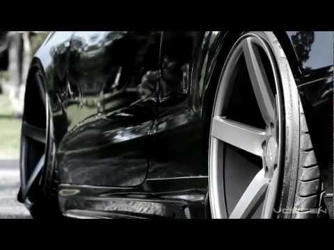 """Audi S5 Bagged on 20"""" Vossen VVS-CV3 Concave Wheels / Rims www.videotothink.com"""