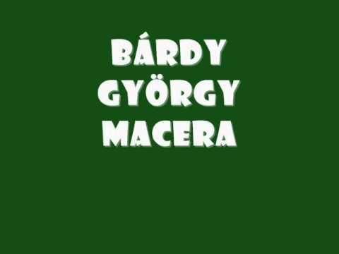 macera - bardy gyorgy
