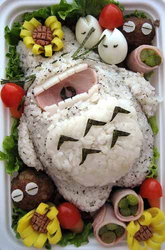 Image: Kyaraben As previously discussed, everyone eats with their eyes so it is important to take some care over the presentation of the meal. However, one would think that children's lunch boxes are...