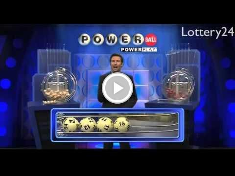 Free  Video - 2016 02 20 Powerball Numbers and draw results