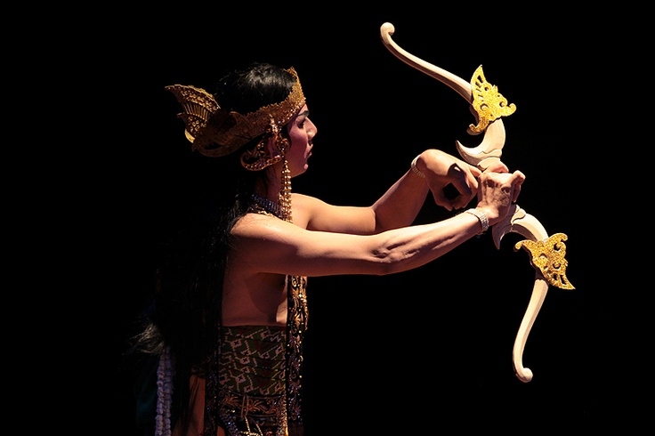 Indonesian  Wayang Orang (Javanese) Performance