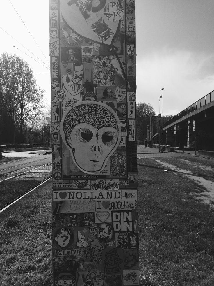 #streetart #collage #amsterdam