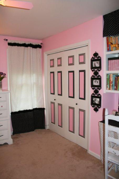 Paris Girls Bedroom Decor Girls Pink Polka Dot Paris Poodle Girls Room Designs