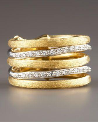 Jaipur Stacked Diamond Ring