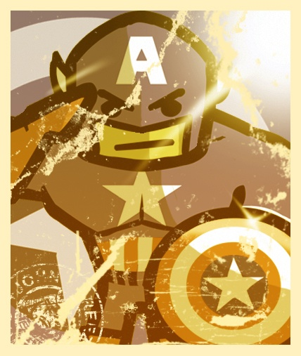 Happy July 4th to all you 'mericans.  A gift from me, Captain America - Man out of time: Gift