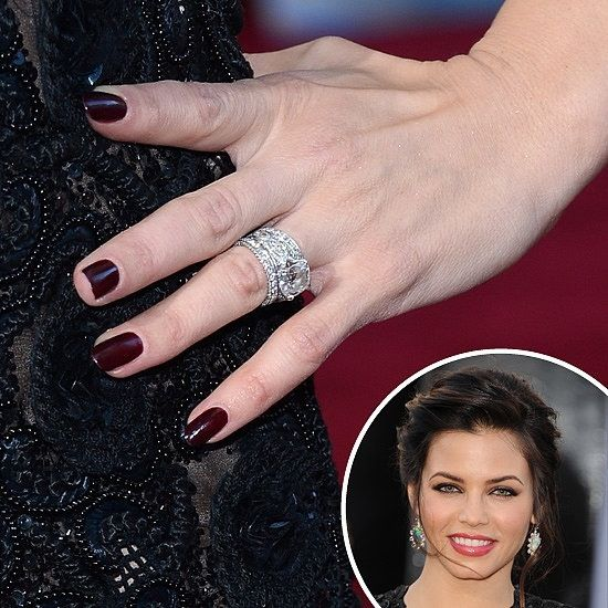 Zoom In On The Manicures From Amaore Jenna Dewan Beauty And Rings