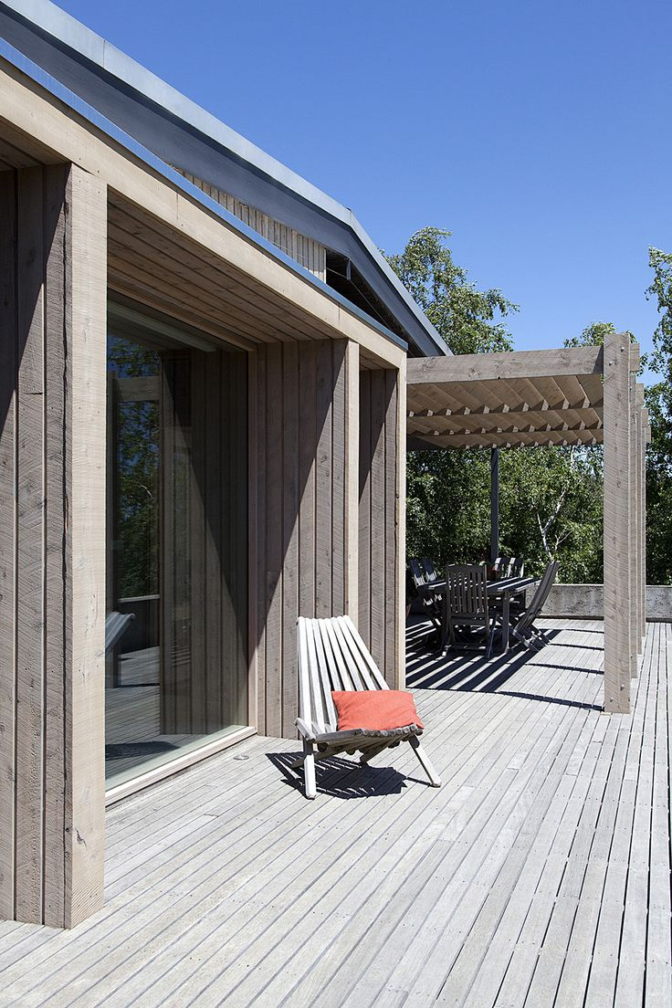The best sustainable woods for exterior siding and decking - The Plinth House Simple Extension Takes Advantage Of Picturesque Location