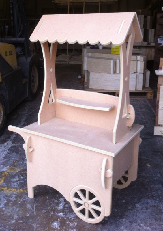 Children's Candy Cart  Collapsible