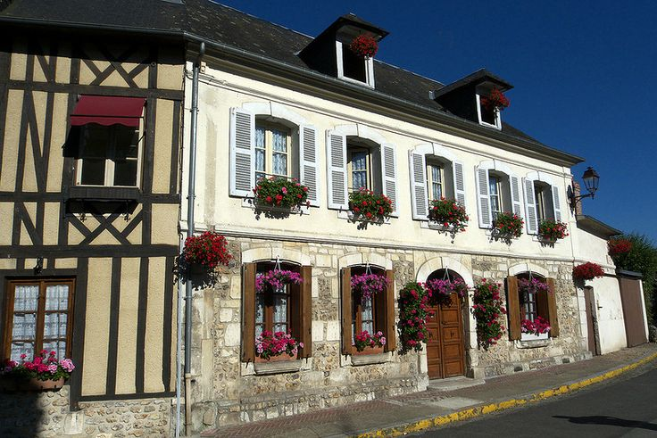 Деревня Le Bec-Hellouin. Нормандия, Франция. Обсуждение на LiveInternet - Российский Сервис Онлайн-Дневников