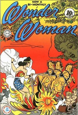 Wonder Woman No.3 - Feb 1943. By William Marston & Harry G. Peter. Villains: Baroness Paula von Gunther, Nazis, Keela