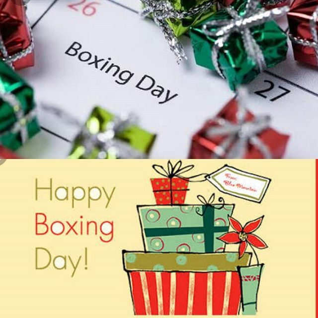 Have a wonderful Boxing day. If you are still Recovering from a Food Coma , at the Boxing Day test, The sales or just resting. Enjoy. Back in the treatment room tomorrow till Friday or Saturday 30th. Taking Sunday 31st December and New years day off. Working Tuesday 2nd January till Friday 5th January Having Saturday 6th January till Sunday 21st January off. Make sure to book in for a massage session. Call or email to make a booking. See ebmyotherapy.com for details #boxing...