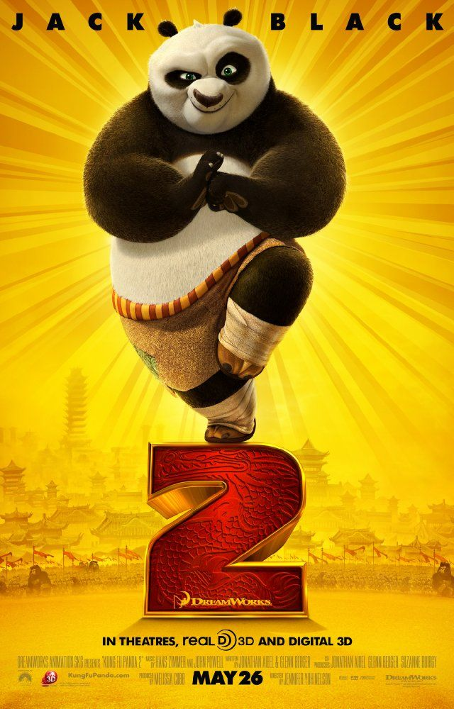 Day 4- Kung Fu Panda 2!!! It was so much better than 1, and I still don't get tired of seeing it!!