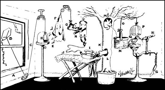 33 Best Rueben Goldberg Images On Pinterest Rube Goldberg Machine