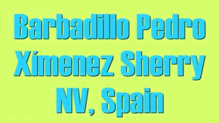 Wine Tasting with Simon Woods: Barbadillo Pedro Ximénez Sherry