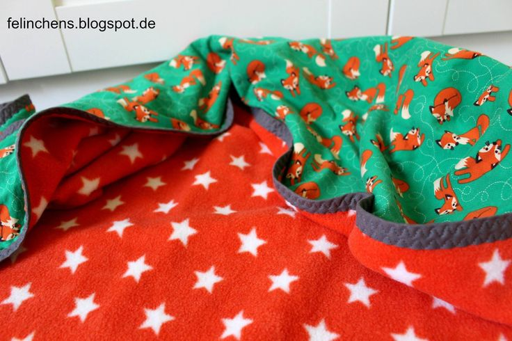 Nähbeispiel lillestoff » Fox green/orange «