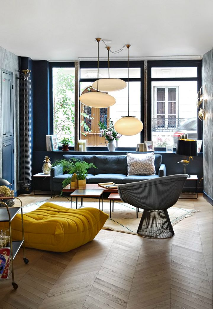 truly unique boutique design hotel in paris - Cute Living Room Decor