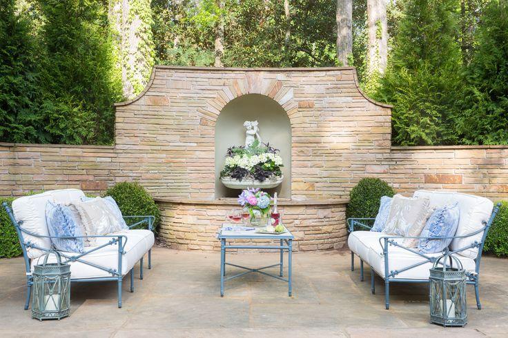 17 best images about 2014 asa decorators 39 show house for Garden loggia designs