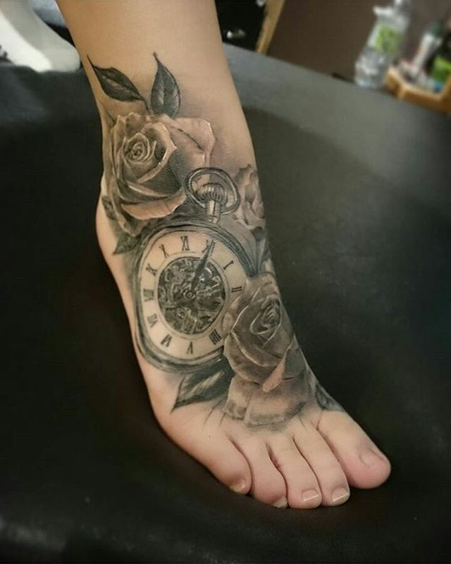 12 best images about time piece tattoo ideals on pinterest for Time piece tattoos