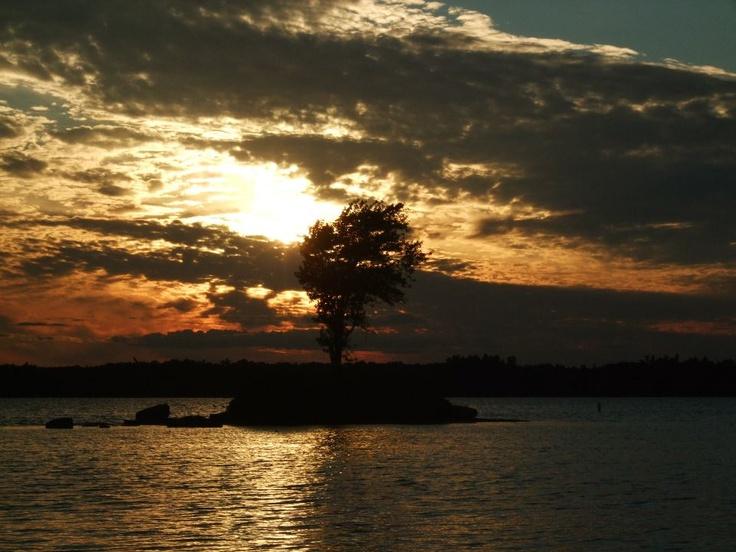 Sunset - Charleston Lake - Ontario - Canada