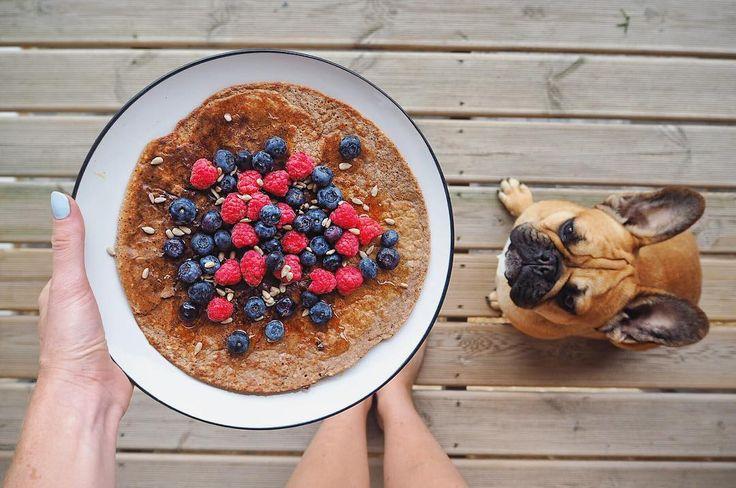 Carly Rowena breakfast pancakes