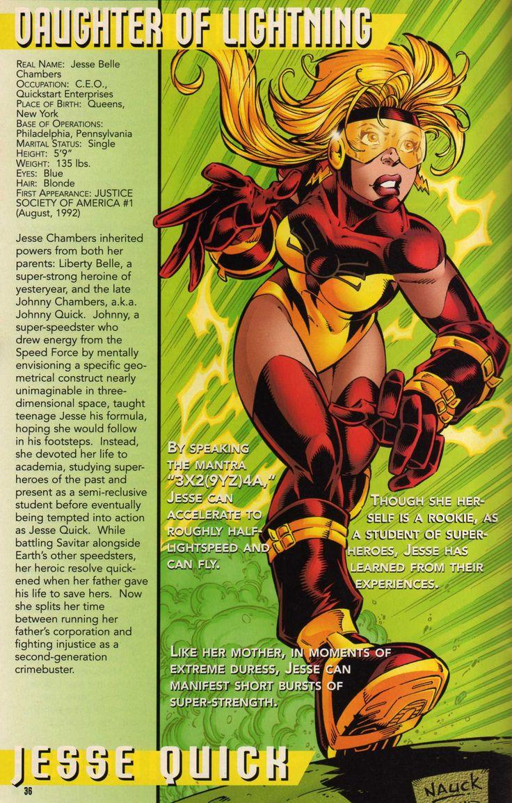 Resultado de imagem para Jesse Quick   Female speedster