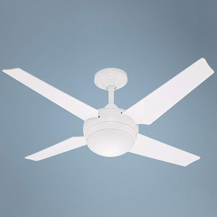 "50"" Hunter Sonic White ENERGY STAR Ceiling Fan - #90107 