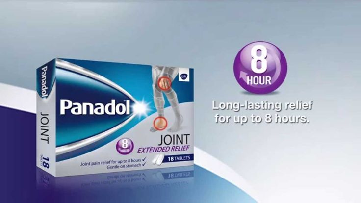 Pain out, life in with Panadol Joint
