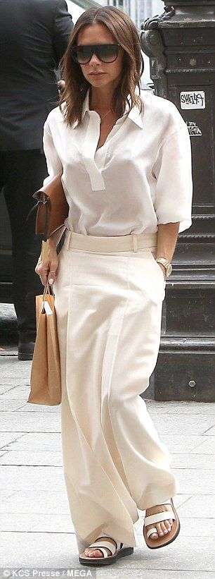 Victoria and David Beckham are apart again after their anniversary - Joanna Kilis