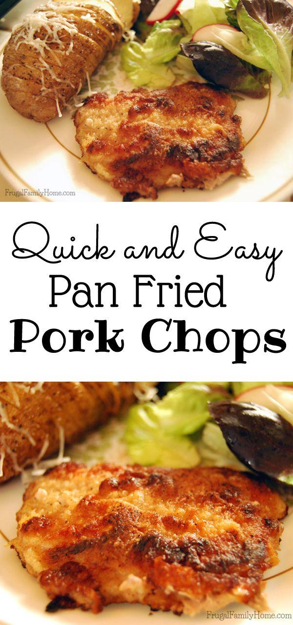 Best 25+ Pan fried pork chops ideas on Pinterest | Meals ...