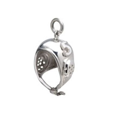 Water Polo Cap Charm with Number