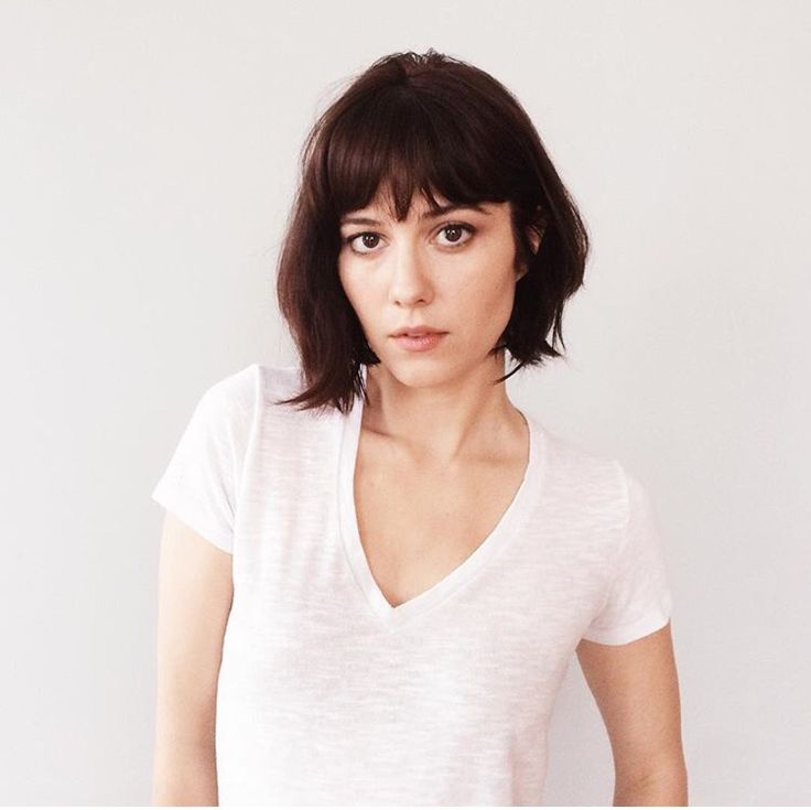 Mary Elizabeth Winstead short bob with bangs                                                                                                                                                                                 More