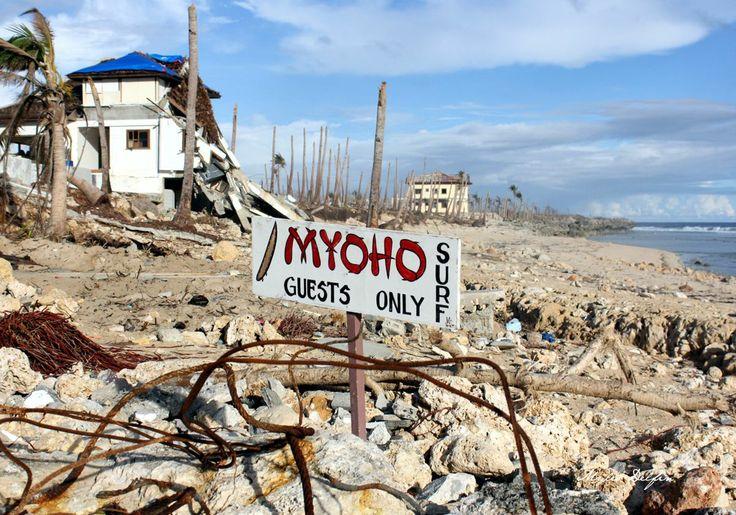 Surf Camp after Typhoon Yolanda in Samar, Philippines.