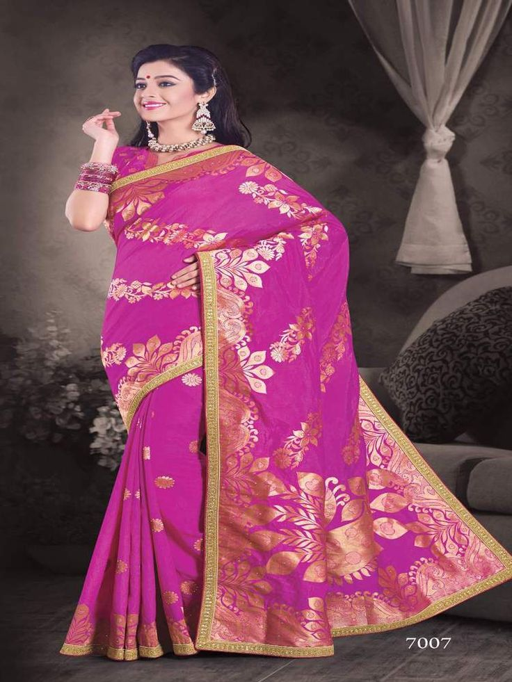 Indian Designer Saree Pakistani Traditional Ethnic Sari Bollywood Wedding 7000  #KriyaCreation